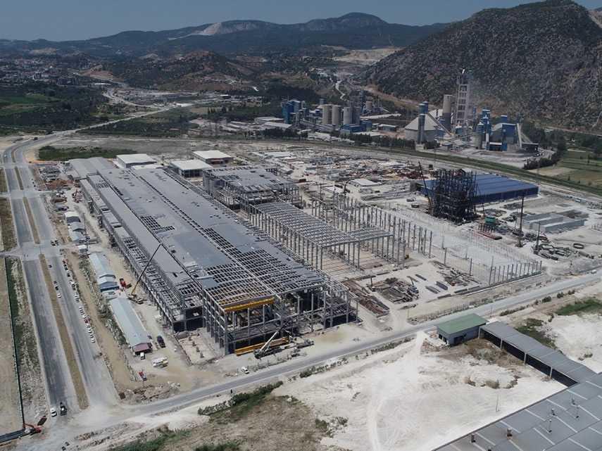 Maren Maraş 600.000 t/yıl Kapasiteli Kağıt Fabrikası