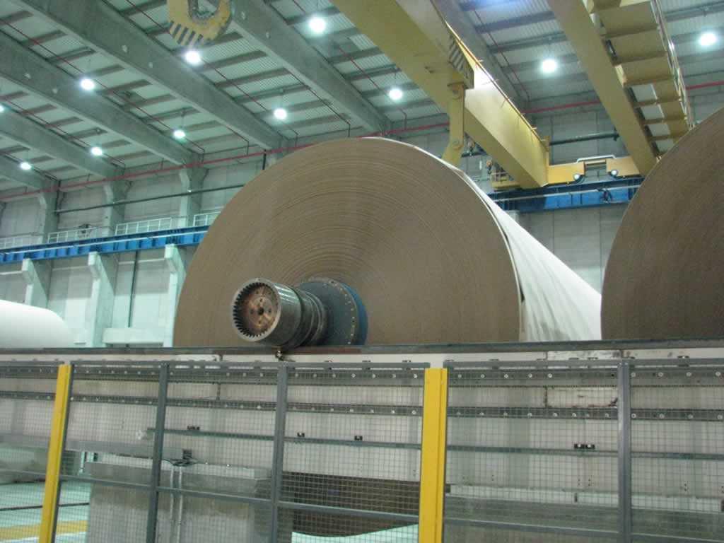 Modern Karton PM4 400.000t/yıl Kapasiteli Kağıt Fabrikası