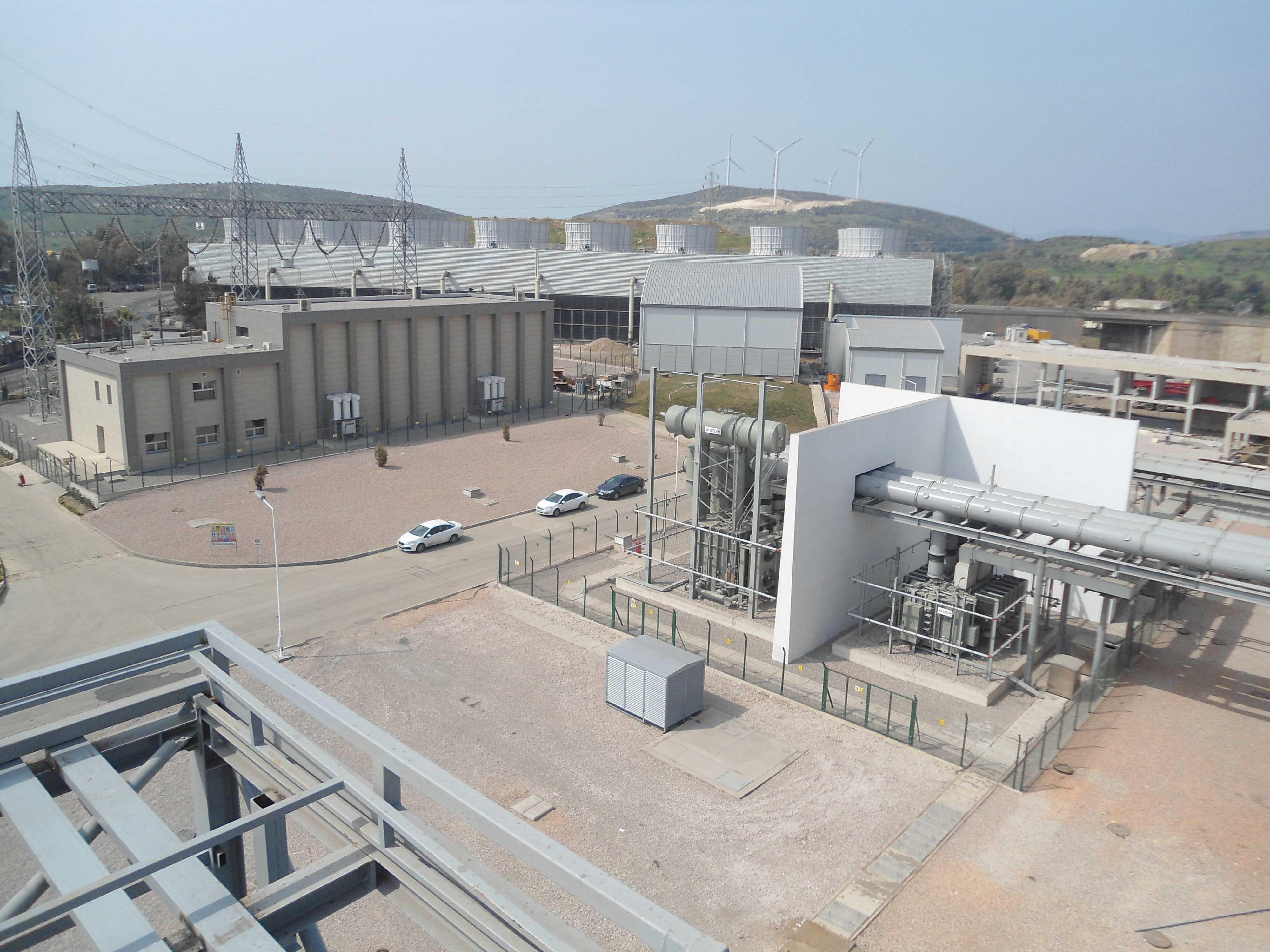 İzdemir 350 MW Enerji Santrali