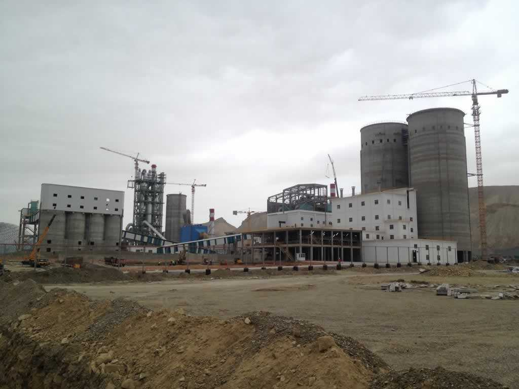 Bakü 5000 t/gün Kapasiteli Çimento Fabrikası