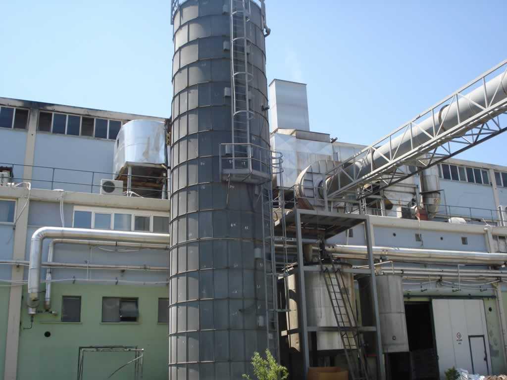 Dentaş 90.000 t/yıl Kapasiteli Kağıt Fabrikası
