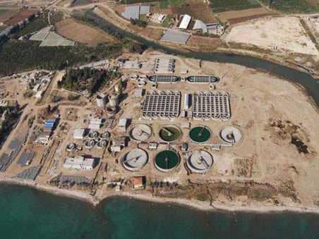 Mersin Karaduvar Atık Su Arıtma
