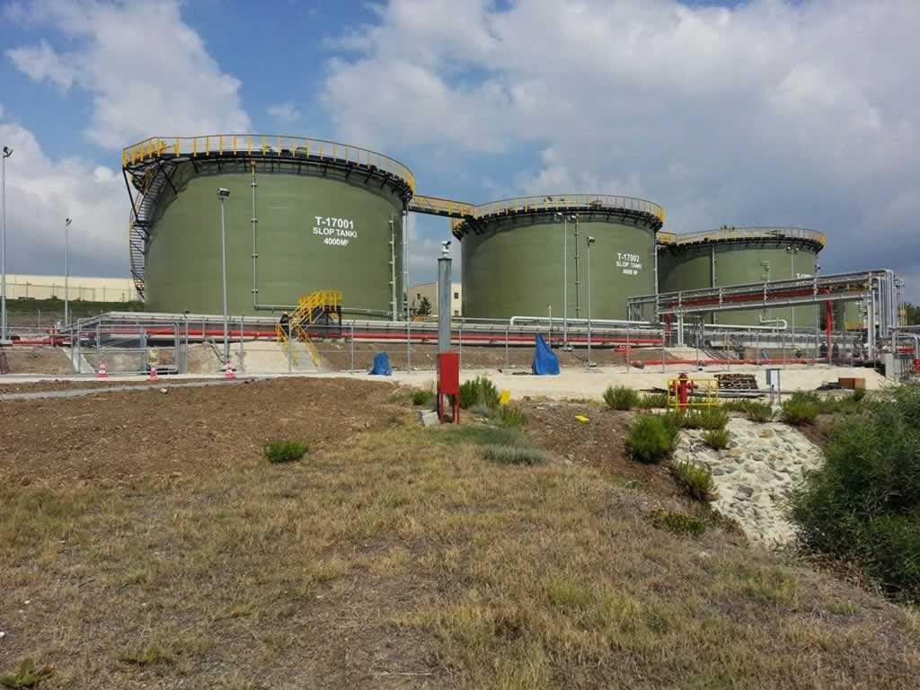 Verwater Bakü-Ceyhan Petrol hattı Terminal ve Depolama