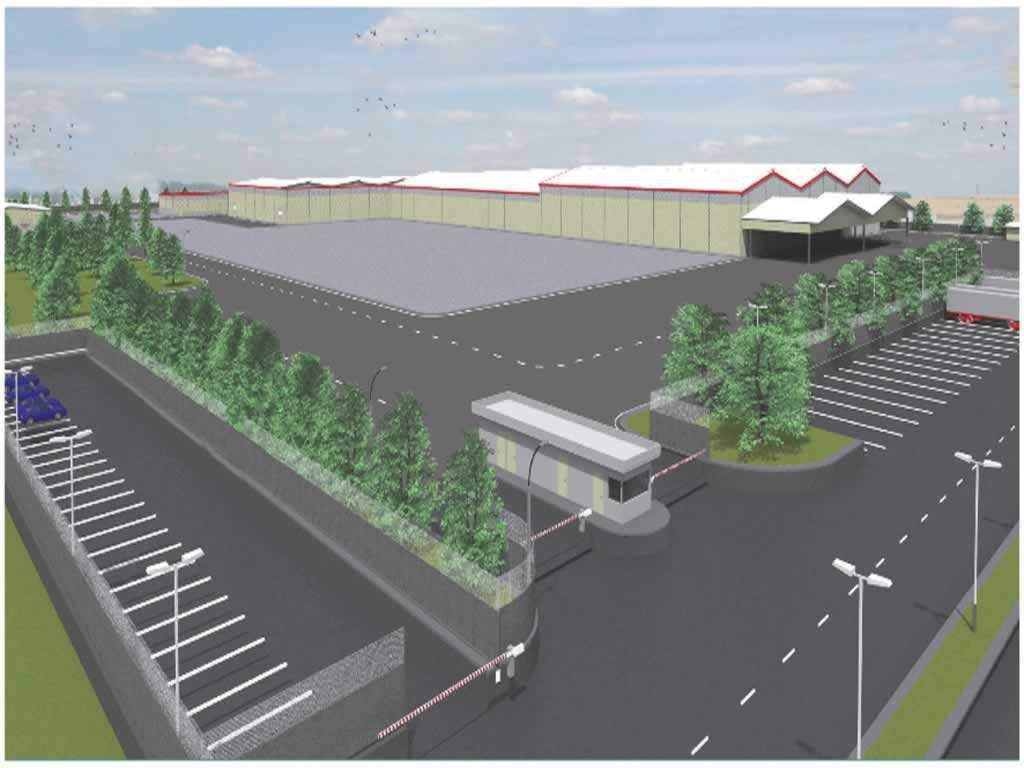 Coca-Cola Fabrikası Astana Greenfield Projesi
