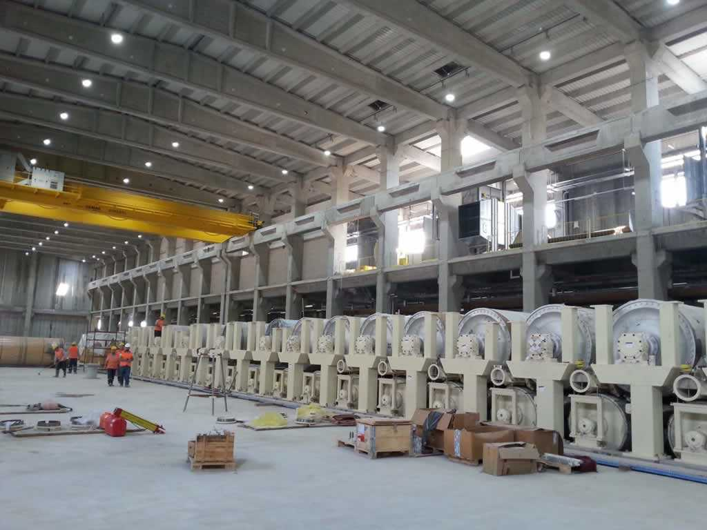 Modern Karton PM5 400.000t/yıl Kapasiteli Kağıt Fabrikası