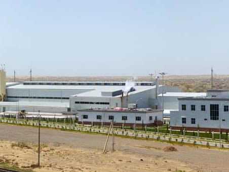 Gaz Beton Fabrikası